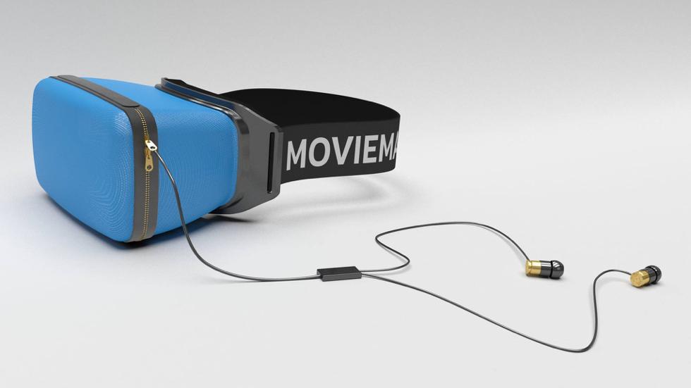 Slik så det første konseptet for en industriell MovieMask ut