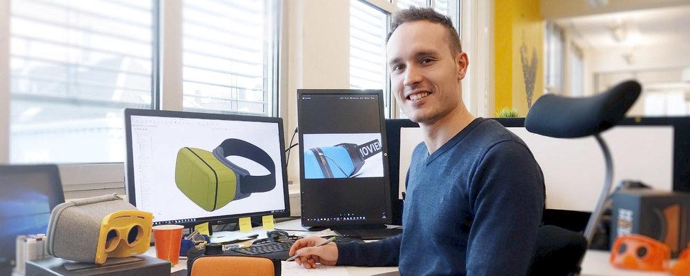 Eivind Sæter! Vår designer fra Inventas som vi har samarbeidet tett med det siste året!