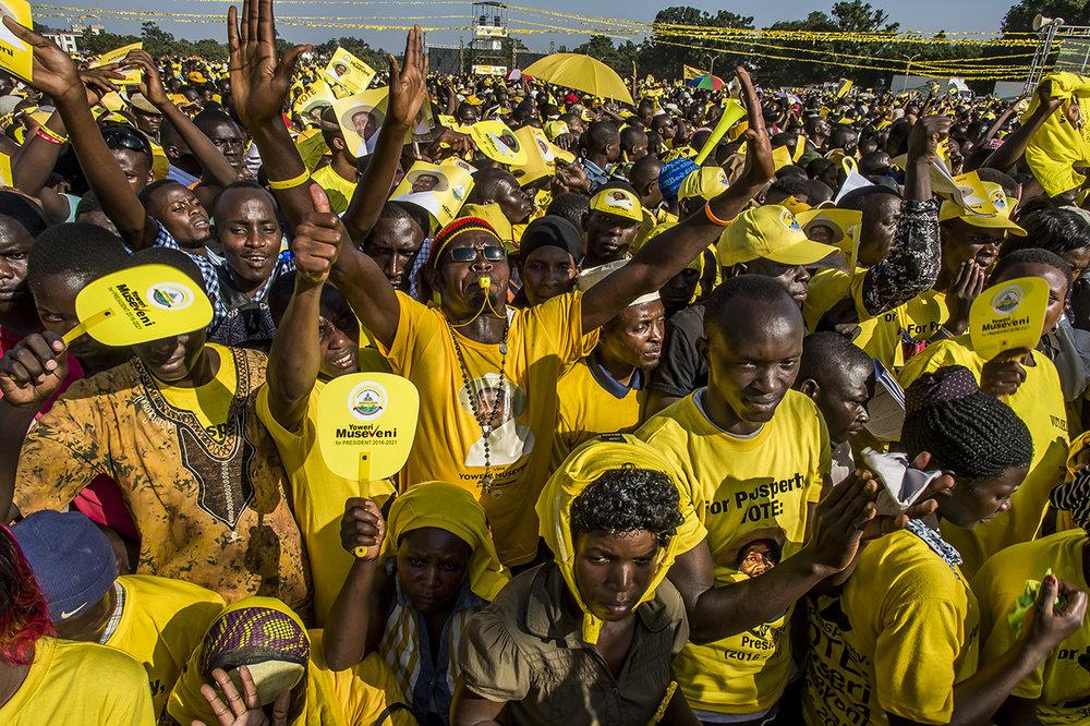 Ugandan Presidential election - 2016