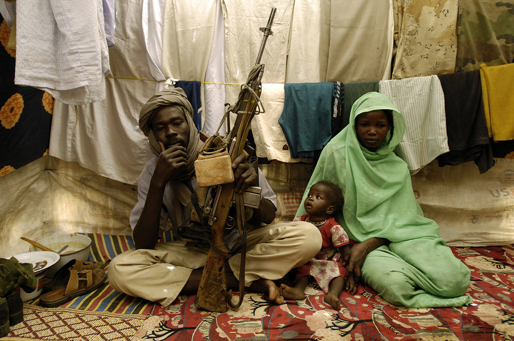 Darfurian exodus, Chad 2008