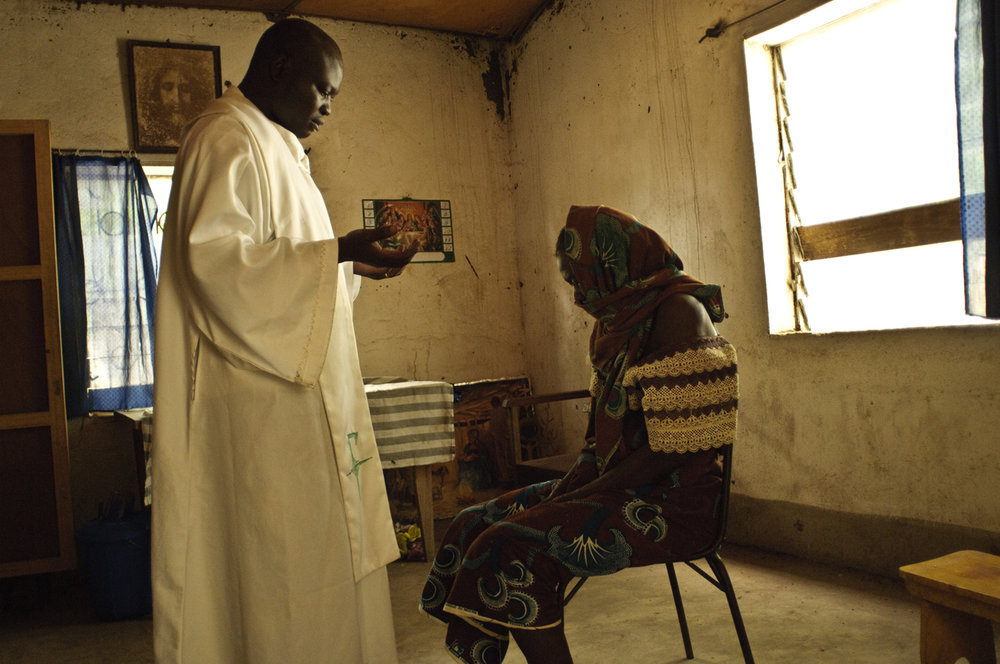 A priest, Chad, 2010