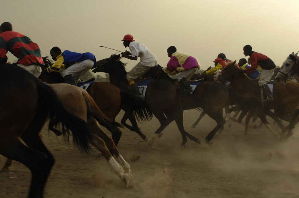 Djouhat, horse racing, Chad, 2009-12
