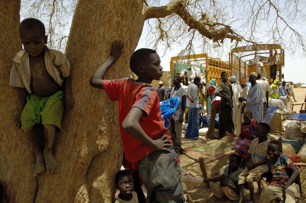 Long way home, Darfur, 2007