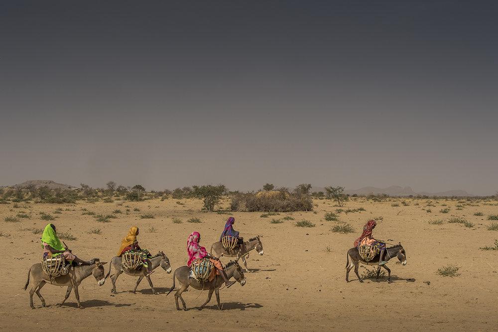 No man's land, Chad, 2016