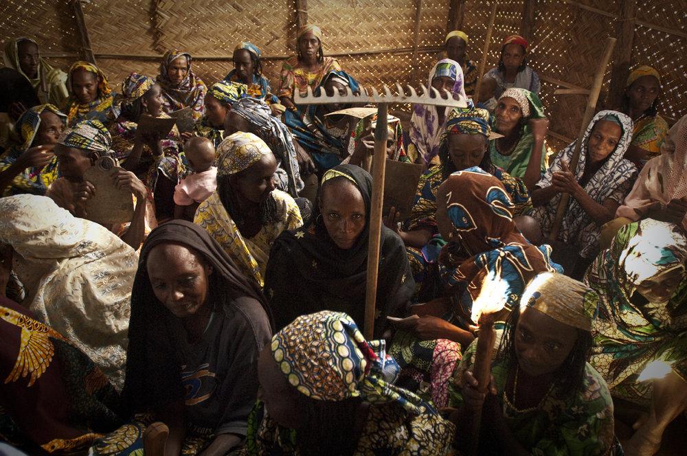 The Bozizes' refugees, Cameroun, 2009
