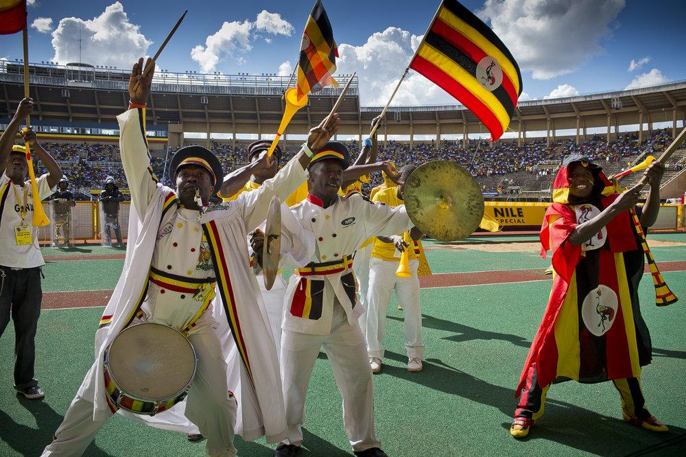CAF, Uganda vs Zambia - 2012