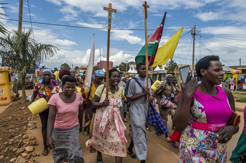 Namugongo pilgrimage, Uganda