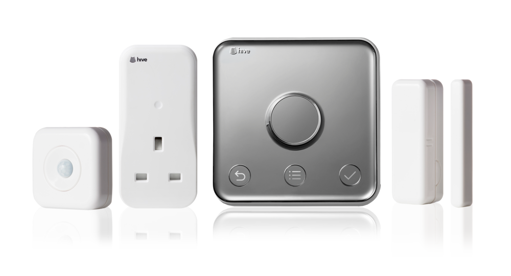 Hive Product Family - (Motion Sensor, Active Plug, Thermostat and Window/Door Sensor)