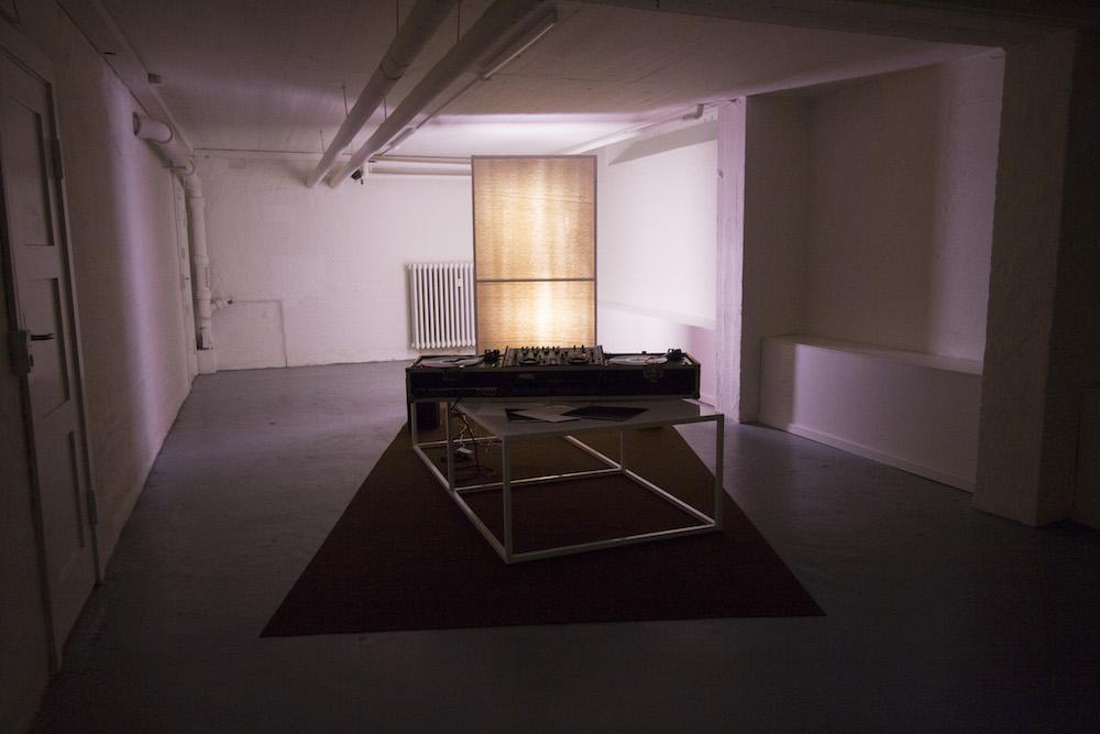 - installation view