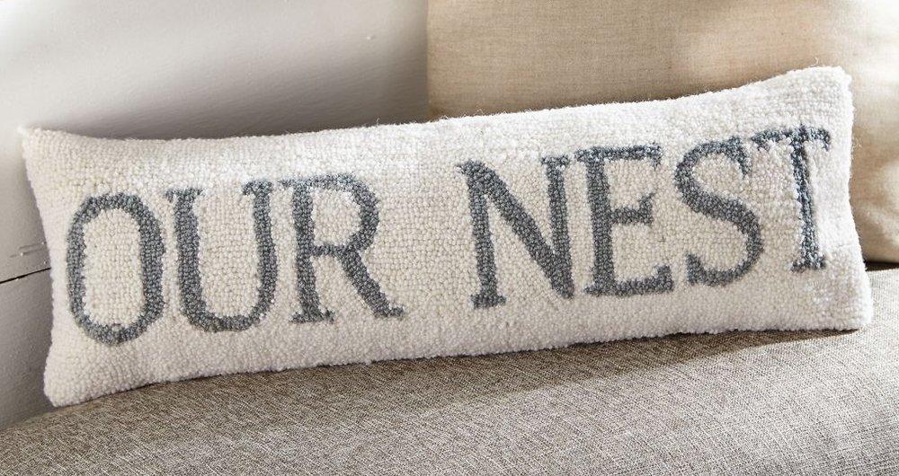 Our Nest Hook Pillow