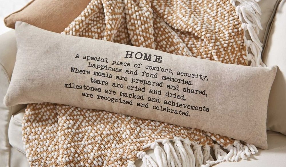 Home Long Pillow