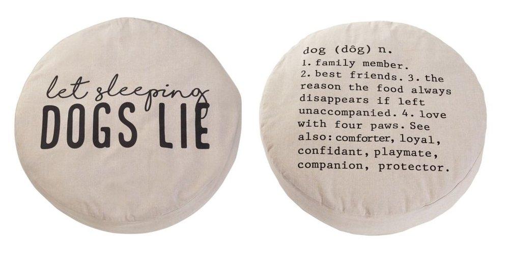 Large Round Dog Beds