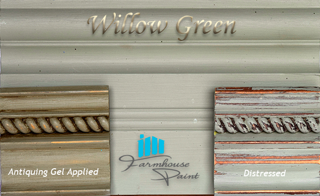 Willow Green Farmhouse Paint