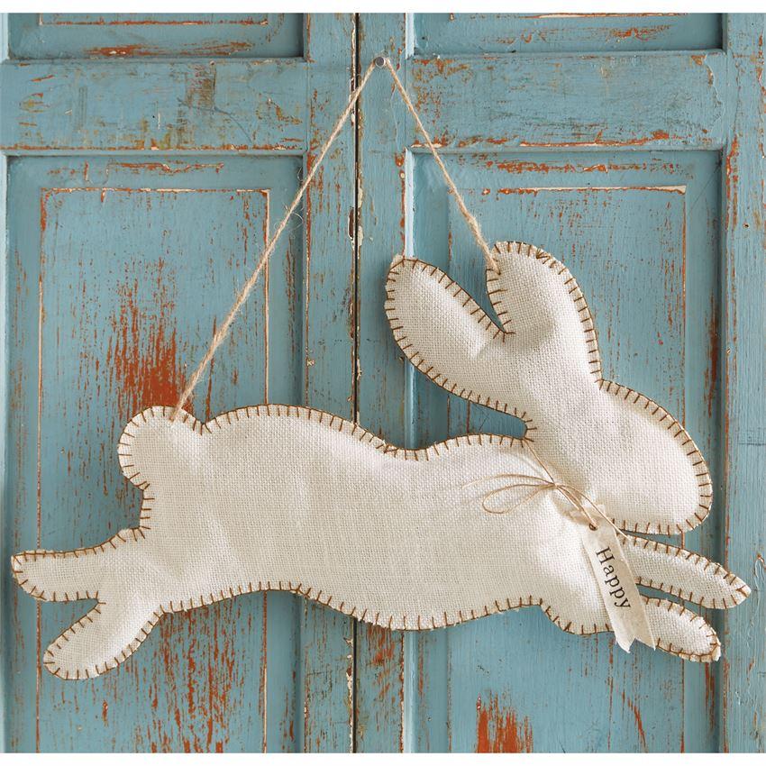 Jumping Bunny Door Hanger