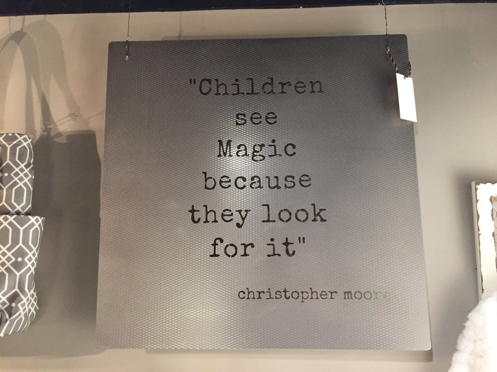 Children See Magic Sign