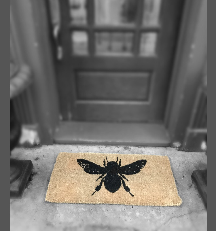 Honey Bee Welcome Mat