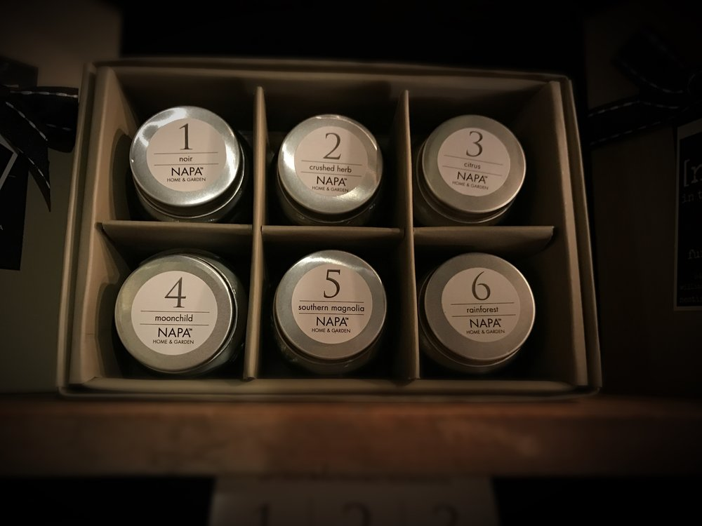 NAPA Tester Candle Boxed Set