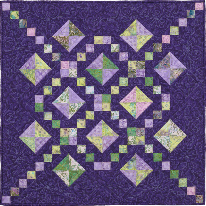 Roads to Everywhere, Ladders to Heaven Quilt Pattern Book by Kaylynn Designs - Railroad Crossing - Design by Lynn R. Makrin