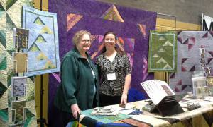 kathie and lynn at show