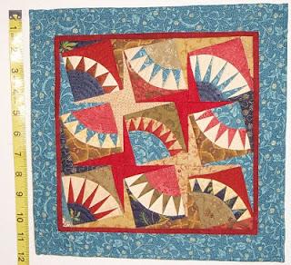 KayLynn Designs Lynn Reynolds Makrin Petite NY Beauty Miniature Quilt