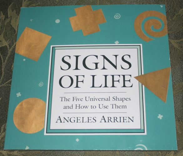 KayLynn Designs Courses Our Class, Signs of Life, is based on this book of the same title by Angeles Arrien. Visit www.kaylynndesign.com