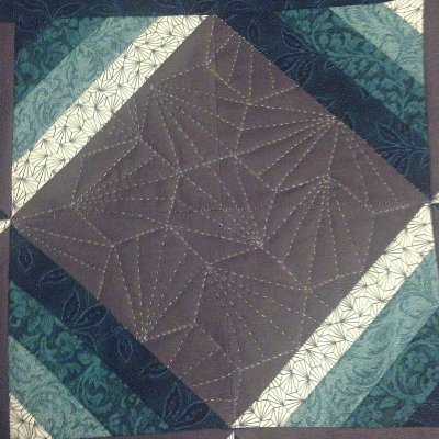 KayLynn Designs Blog - Modern Quilts from Traditional Blocks - Close up of a block by Erica Greenwold Reisen