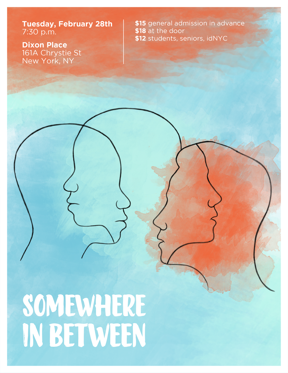Somewhere in Between Poster