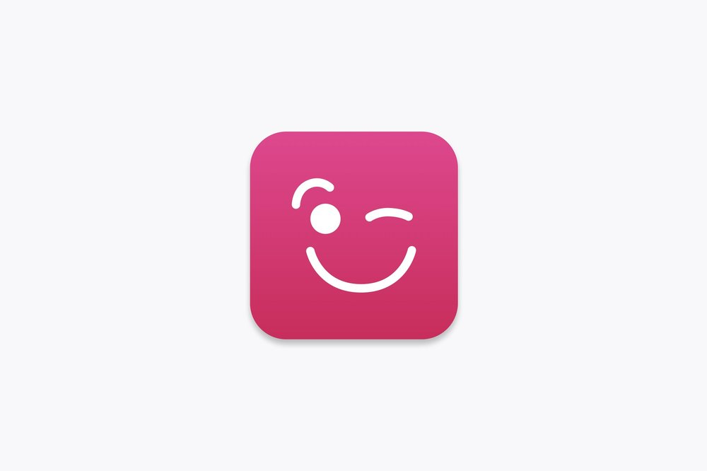 5. App Icon (I made this for a fake dating site)