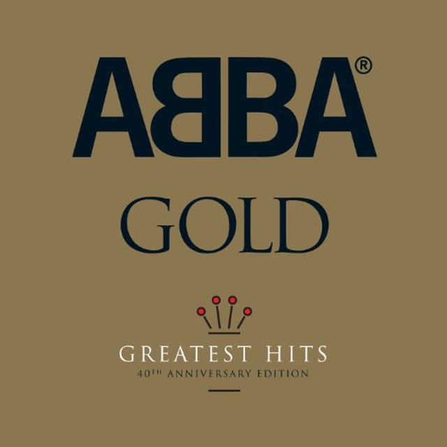 Let's go round again: first launched in 1992, anniversary editions of ABBA Gold (with logo prominent) have been released a regular intervals ever since.