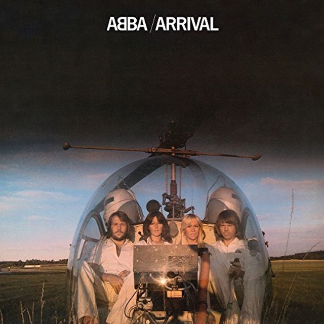 1976's 'Arrival' was the fourth studio album from the Swedish Super Troupers, and the first time their logo was used on an LP.