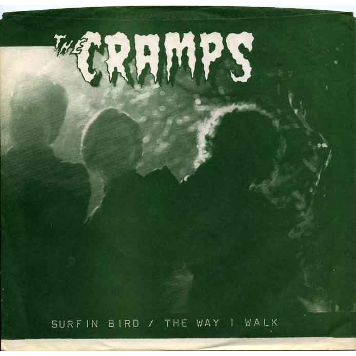 First sight: The Cramps logo emerges from the shadows.