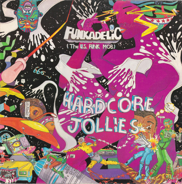 Ring my bell: Pedro Bell's super-busy, suggestive, surreal sleeve art played a major part in creating the Funkadelic mythology.