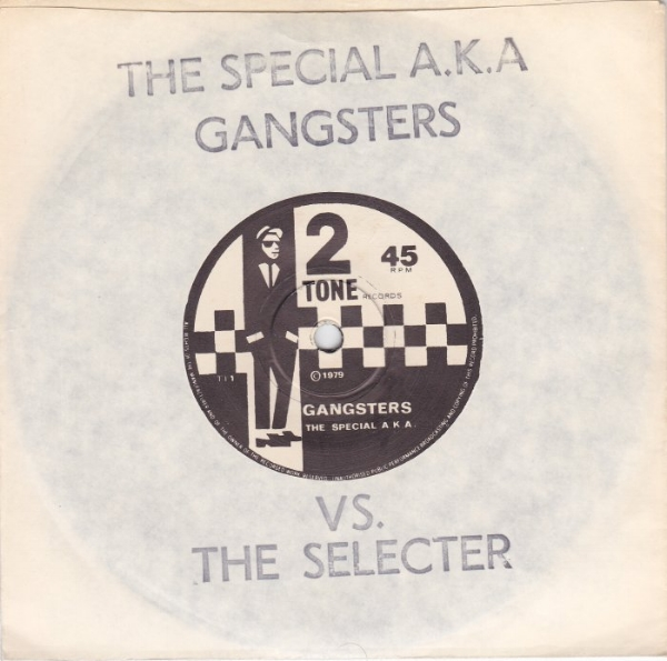 First pressing: Walt Jabsco was unveiled on the independently released 'Gangsters', a spiky reworking of Prince Buster's 'Al Capone'.