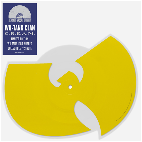 """Making the cut on lim-ed yellow vinyl: Says Wu-Tang member Inspectah Deck: """"The Wu-Tang logo is definitely up there with Batman, man, or the actual W-B Warner Brothers."""""""