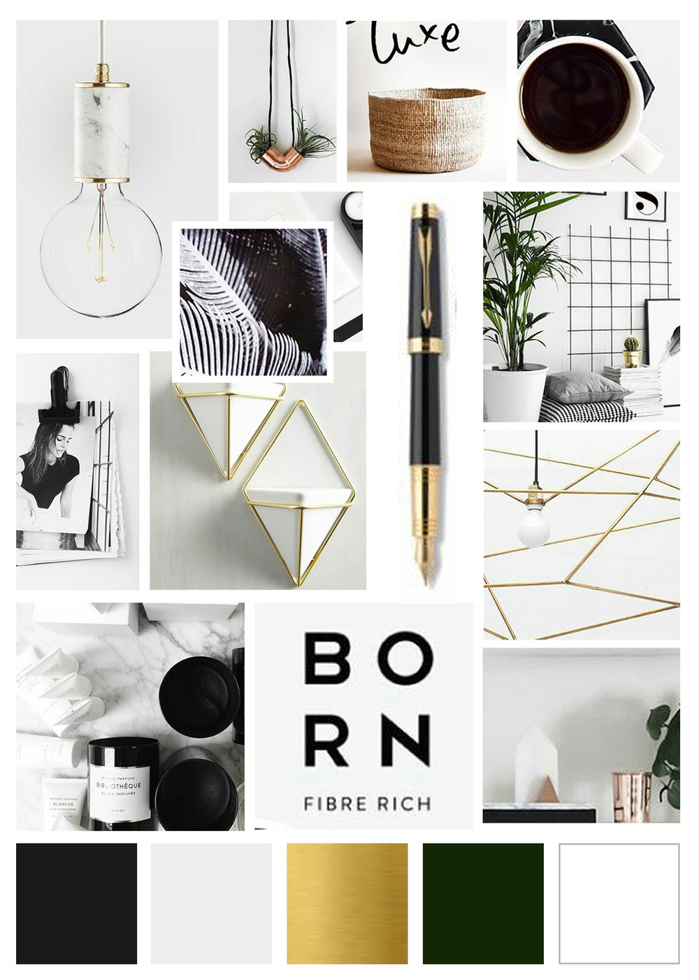 Arrow Creative Design Mood Board