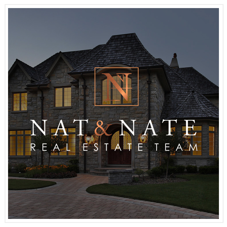Nat & Nate Real Estate Logo Design