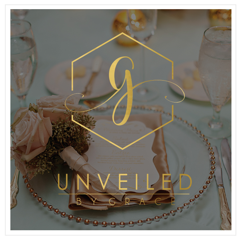 Unveiled by Grace Logo Design