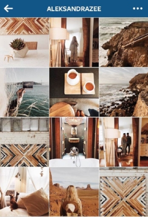Consistent filter Instagram Grid Layout