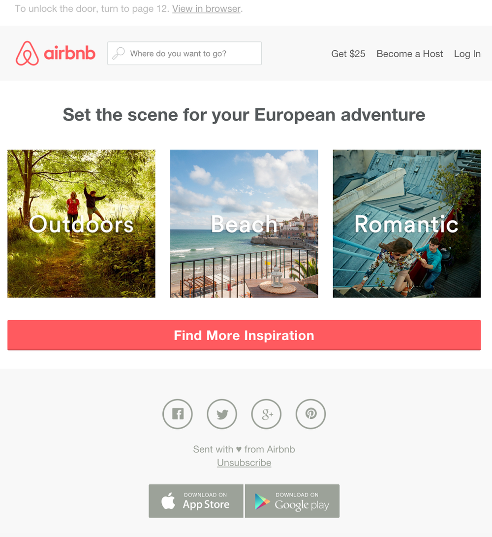 How to Personalize Emails Without Subscriber Data - Airbnb 2.png