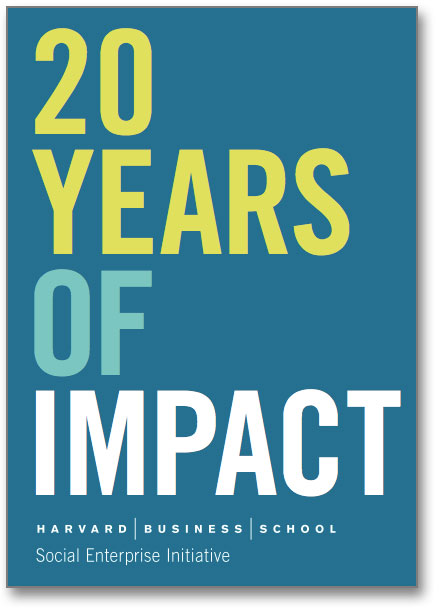 Harvard Twenty Years of Impact
