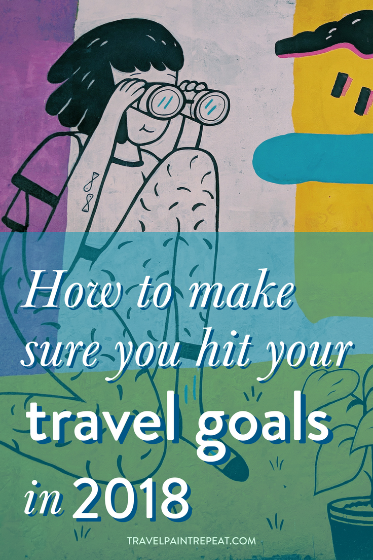 How to make sure you hit your travel goals in 2018