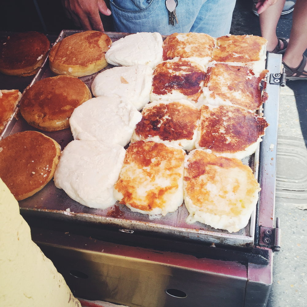 These arepas were life-changing.