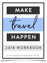 2018 Travel Planning Workbook