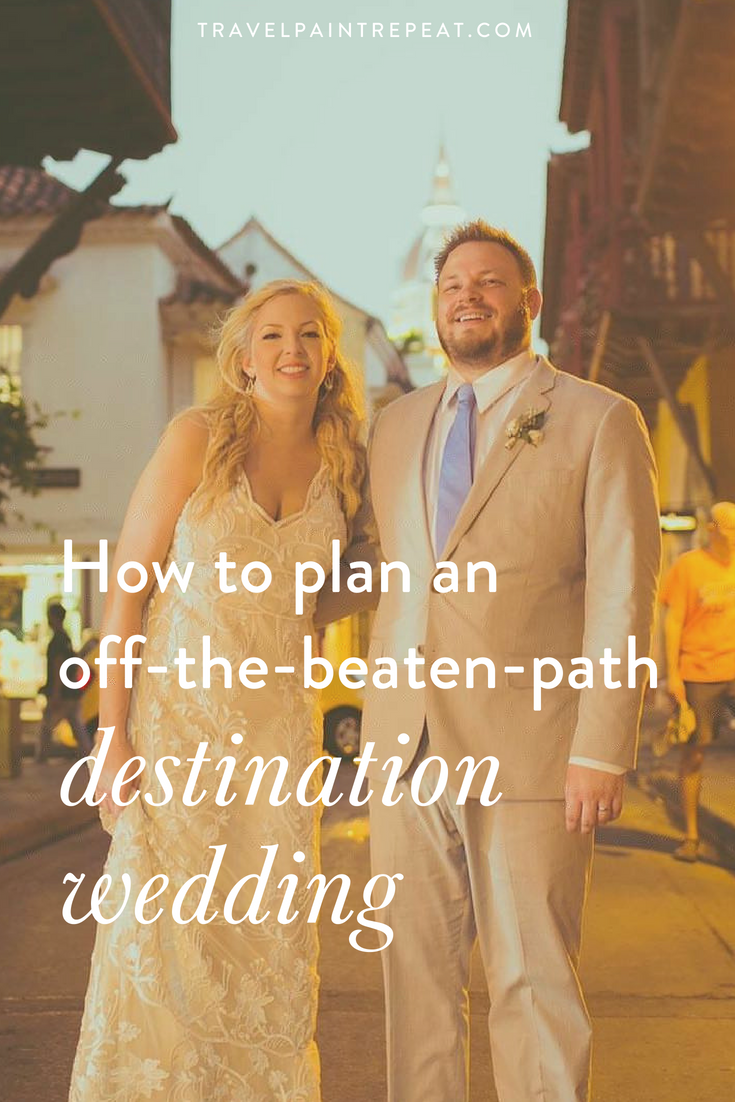 How to plan an off-the-beaten-path destination wedding