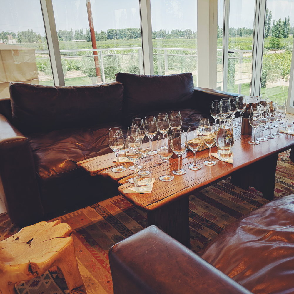Or steal design inspiration from the gorgeous places you've been, like this ridiculously chic and cozy winery in Mendoza.