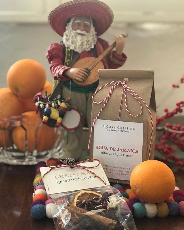 La Casa Catalina Christmas treats. #tucsonairbnb #airbnbsuperhost #whyilovewhereIlive #christmas #arizona
