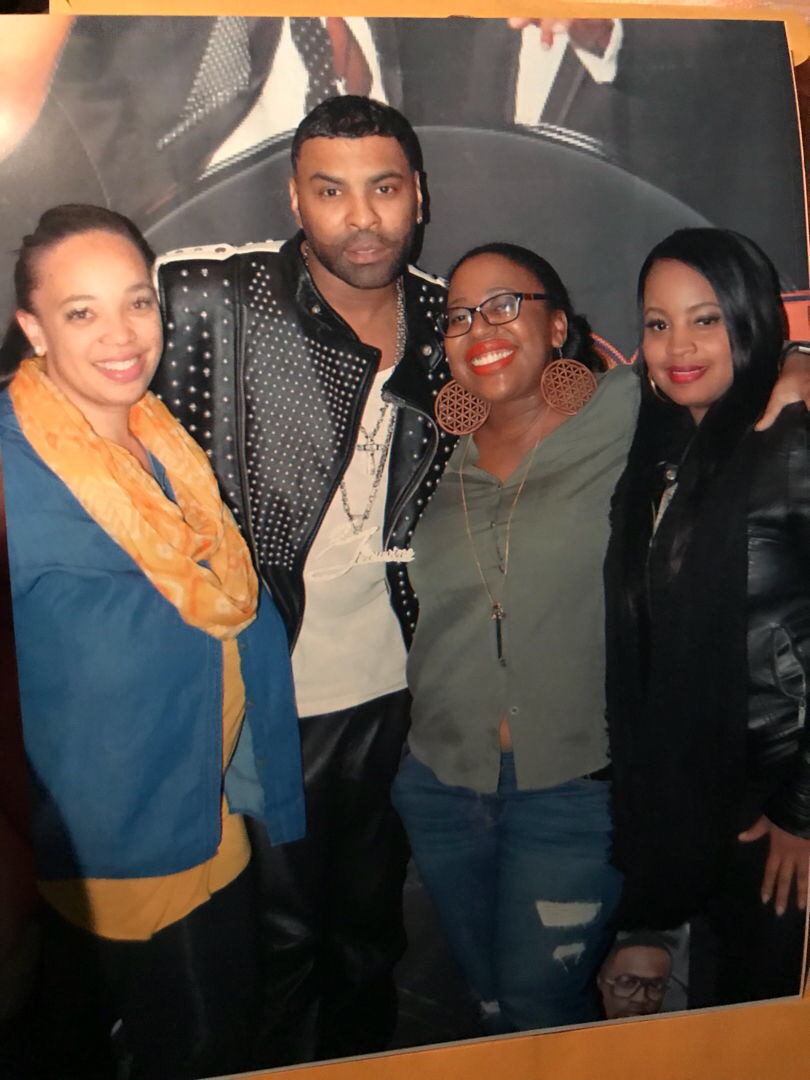My Squad Jessica, Ginuwine, Myself, and Marquita (Shanna Not Pictured)