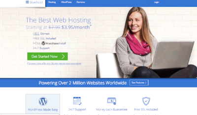 Blue Host For Blogging