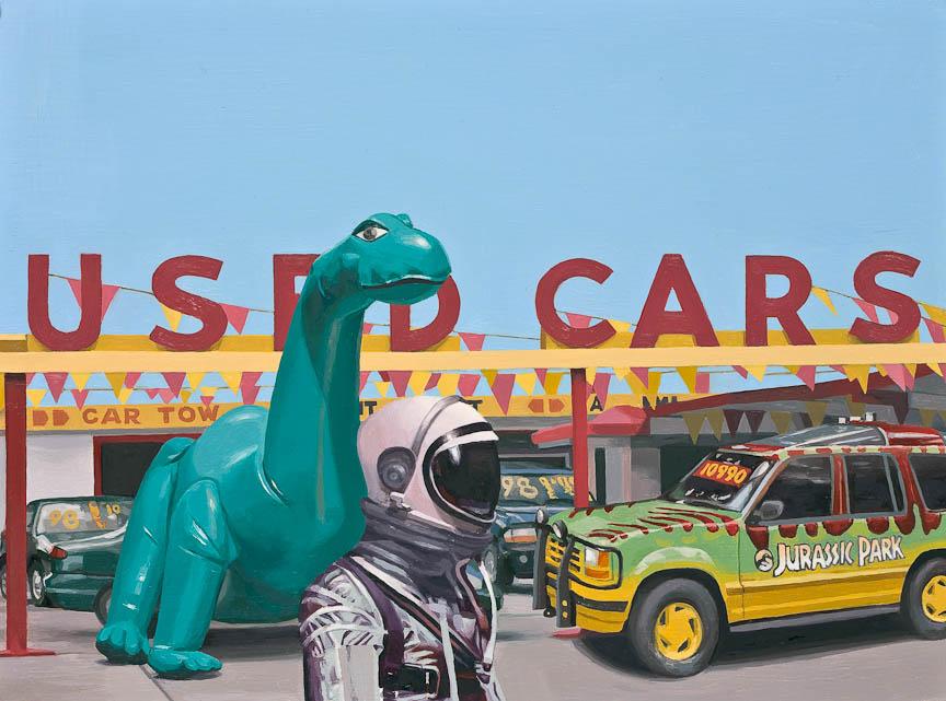 Jurassic Parking Lot