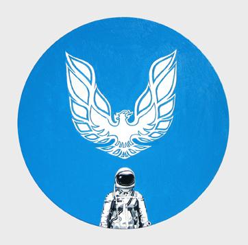 Astronaut Tondo #4